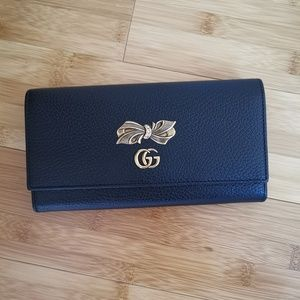 GUCCI WALLET WITH BOW